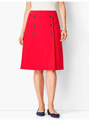 Talbots Twill A-Line Skirt
