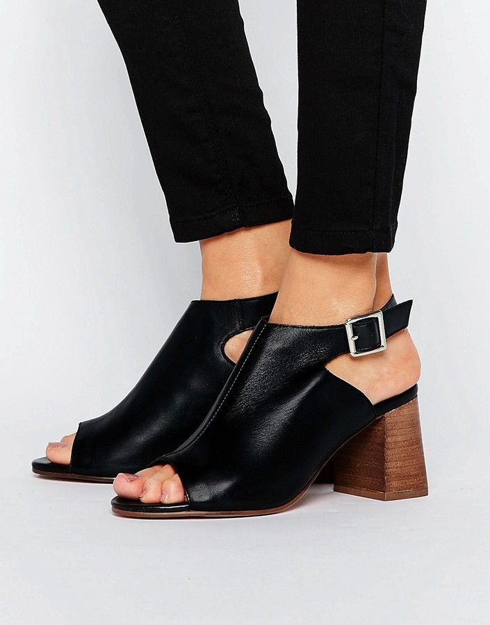 AsosASOS ROSY Leather Shoe Boots