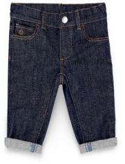 Baby's Five-Pocket Dark-Washed Jeans $210 thestylecure.com