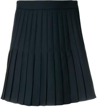 Thom Browne Pleated Uniform Twill Skirt
