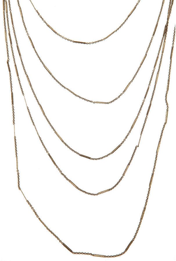 Urban Outfitters Long Layering Chain Necklace