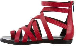 Balmain Claire Logo Sandals w/ Tags free shipping genuine AkOurJ