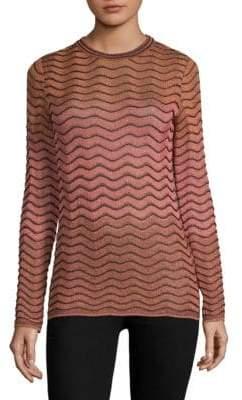 M Missoni Maglia Lurex-Knit Sweater