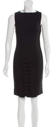 Giambattista Valli Ruffle-Accented Virgin Wool Dress