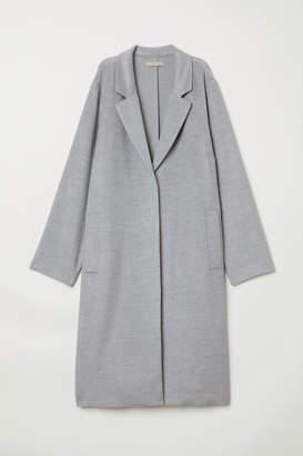 H&M H&M+ Felted Coat - Gray