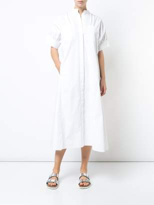 Maison Rabih Kayrouz Mandarin collar shirt dress