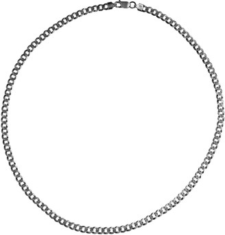 """Or Paz Men's Sterling Silver 22"""" Bold Curb LinkChain, 19.0g"""