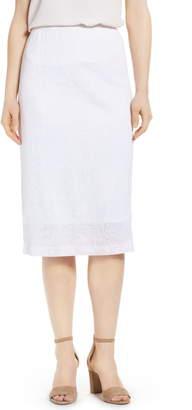 Ming Wang Midi Skirt