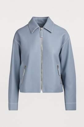 Bottega Veneta Grained leather jacket