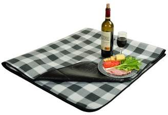 Picnic at Ascot Outdoor Picnic Blanket with Water Resistant Backing