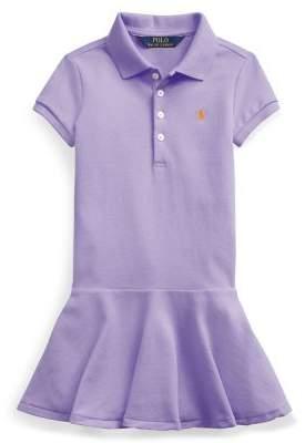 6226b8033 Ralph Lauren Childrenswear Little Girl's Drop-Waist Dress