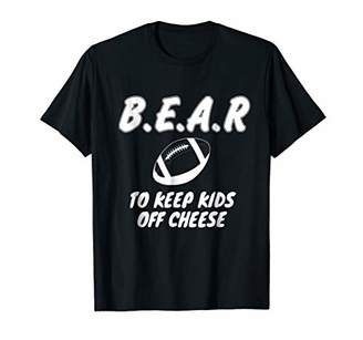 Chicago Football T-Shirt - B.E.A.R off the CHEESE Funny DARE