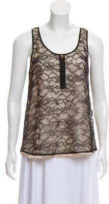 Miguelina Lace Sleeveless Top
