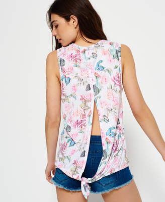 Superdry Haven Knot Back Tank Top