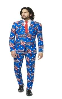 Opposuits OppoSuits Captain America Men's Suit