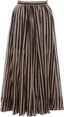 Zimmermann Jaya Draw Flare Skirt