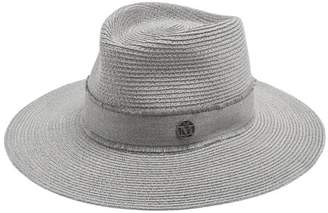 Maison Michel - Charles Straw Hat - Womens - Grey