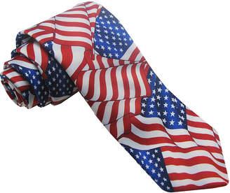 Asstd National Brand American Lifestyle Flowing Flag Tie