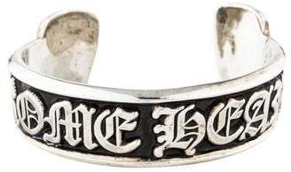 Chrome Hearts Scroll Label Cuff