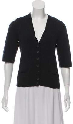 Marc Jacobs Wool-Blend Button-Up Cardigan