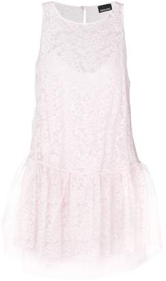 Ermanno Ermanno sleeveless lace drop waist dress