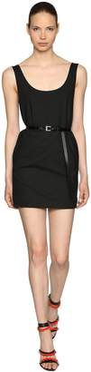 DSQUARED2 Stretch Wool Dress