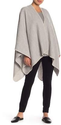 UGG Blanket Stitch Wool Poncho