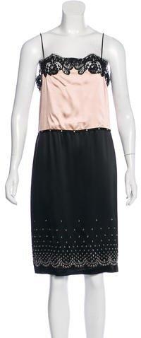 Alexander WangAlexander Wang Sleeveless Colorblock Dress w/ Tags
