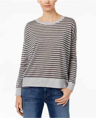 Eileen Fisher Striped Box Sweater $188 thestylecure.com