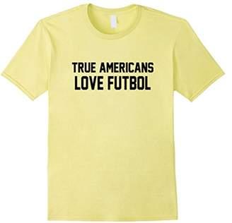 True Americans Love Futbol T-Shirt - USA Soccer