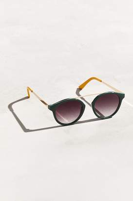 Urban Outfitters Bridgeless Plastic Round Sunglasses