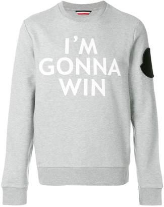 Moncler I'm Gonna Win sweatshirt