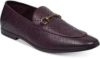 GUESS Men Edwin Patterned Loafers Men Shoes