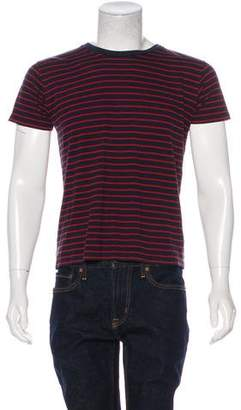 Saint Laurent Striped Print T-Shirt