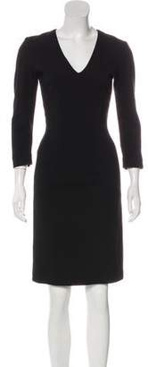 L'Wren Scott Knee-Length Ponte Dress w/ Tags
