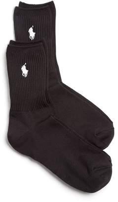 Ralph Lauren Super Soft Pony Crew Socks, Set of 2