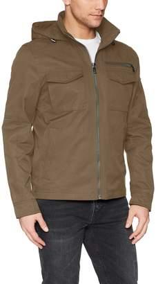 Calvin Klein Men's Spring Anorak Jacket with Pocket Detail