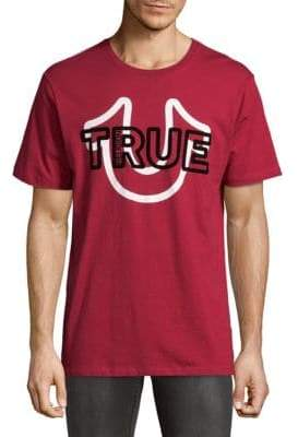 True Religion Cheer Cotton Tee