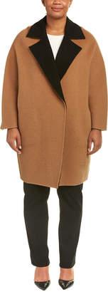 Marina Rinaldi Wool & Alpaca-Blend Coat