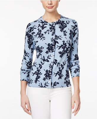 Karen Scott Printed Cardigan, Only at Macy's $49.50 thestylecure.com