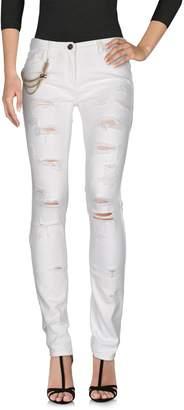 Elisabetta Franchi Denim pants - Item 42585702ND