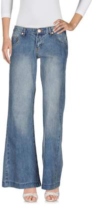 One Teaspoon ONE x ONETEASPOON Denim pants - Item 42552847HJ