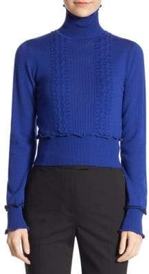 3.1 Phillip Lim Long-Sleeve Turtleneck Top