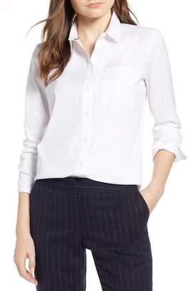Halogen Stretch Woven Shirt (Regular & Petite)