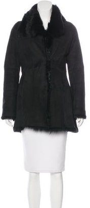 Andrew Marc Shearling Short Coat $475 thestylecure.com