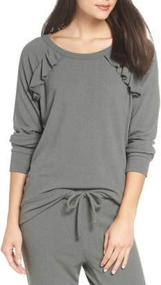 Chaser Love Ruffle Knit Pullover