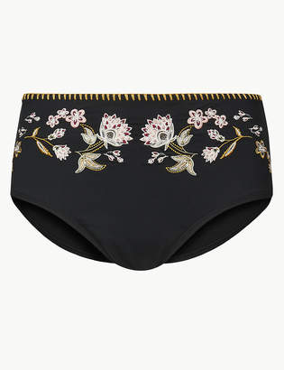 Marks and Spencer High Waisted Bikini Bottoms