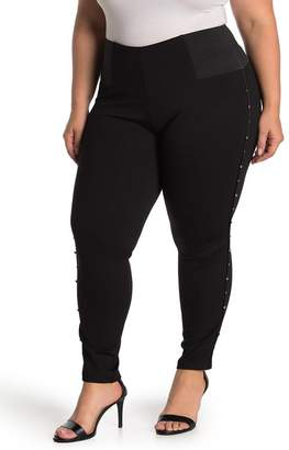 ELOQUII Miracle Flawless Studded Leggings (Plus Size)