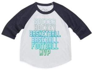 Chaser Toddler's, Little Boy's& Boy's Sports Jersey Tee