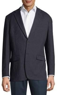 Tommy Hilfiger Tonal Herringbone Cotton Sportcoat